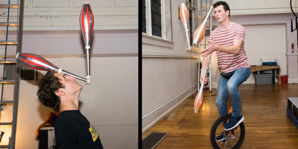 Balancing and Juggling