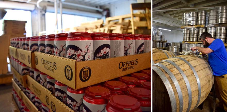 Beer storage and packaging
