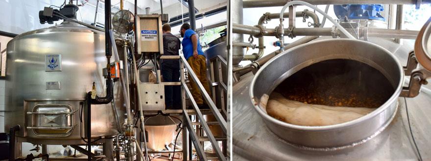 Beer creation machinery