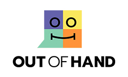 Out of Hand logo