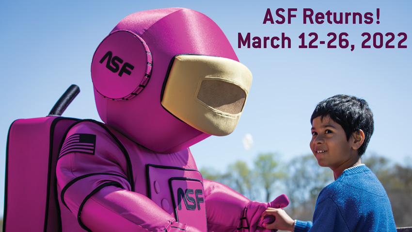 ASF Returns! March 12–26, 2022